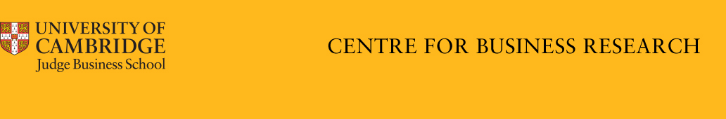 The Centre for Business Research blog